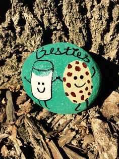 Painted Rock  Besties