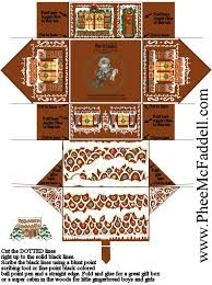 Image result for christmas paper houses templates