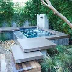 modern pool by Falling Waters Landscape