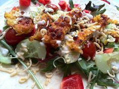 Mydailyteacup Recept: Wrap met krokante kip