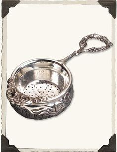 WATER FAIRY TEA STRAINER - TEA LOVER'S COMPANION via VictorianTradingCo.com