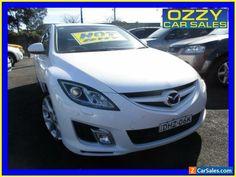 2009 Mazda 6 GH MY09 Diesel White Manual 6sp M Wagon #mazda #6 #forsale #australia