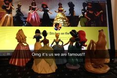 Get A Real Behind The Scenes With These Disney Princess Snapchats