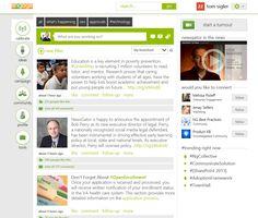 Engage #intranet design