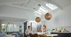 Considering a skylight in your remodeling project? Explore a variety of skylight options by room, by features and benefits. Learn the latest tips and trends. Skylight Window, Home Tech, Smart Home, Stairs, Skylights, Windows, Ceiling Lights, Pathways, Natural Light