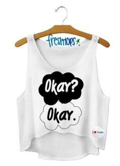 Okay? Okay. Crop Top #freshtops