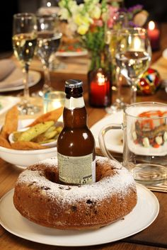 A German beer and Coffee Cake. Could combinations get any better?