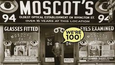 After arriving on Ellis Island in 1899, Hyman Moscot started selling ready-made glasses from his pushcart in New York City. Four generations later, the Moscots are outfitting fashion-forward clients around the world.