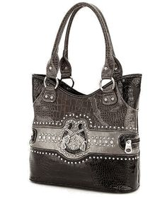 Black Rhinestone Pistol Western Purse. Love it but its out of stock