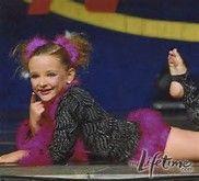 Kendal when she was little! Go watch dance moms