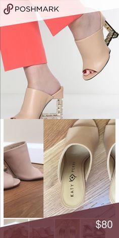 a6e223cc207 Katy perry gold heel mules size 6 Katy perry mules Shoes Heels Shoes Heels
