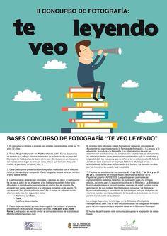 II Concurso de fotografía TE VEO LEYENDO