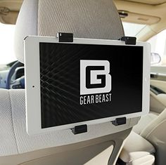 Car Back Seat Headrest Mount Holder for iPad Pro 129 and 97 iPad Air iPad Mini Samsung Galaxy Tab Google Pixel C Sony Xperia Z4 Z3 Nexus 9 Microsoft Surface Nabi and Other 7 to 13 Tablets -- Check this awesome product by going to the link at the image.