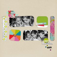 My favorite peeps! Valorie Wibbens - For Like Ever Papers, Journal Cards and Sprinkles v. 33 Gina Miller Designs - Boxed In 1 Templates Amy Martin Almost Typed Font