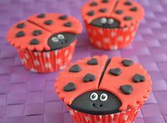 Lieveheersbeestjes cupcakes - Laura's Bakery