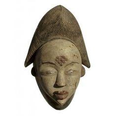 Эффектная и выразительная африканская маска из Габона Punu Buddha, Africa, In This Moment, Statue, Portrait, Art, Art Background, Headshot Photography, Kunst
