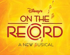 """Flöh Creative collaborated with Disney's Broadway Show production team to create the brand identity system for their hit musical """"On The Record"""" A combination of hand-lettering and illustration were employed to create this unique identity."""