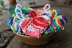 Knitting Patterns Dishcloth Heart Tawashi Knitting Pattern from Simply Notable! Knitting Patterns Free, Knit Patterns, Free Knitting, Baby Knitting, Cloth Patterns, Free Pattern, Knitting Stitches, All Free Crochet, Knit Or Crochet