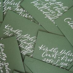 Modern calligraphy for wedding invitations, parties, and showers by Caitlin Jane Calligraphy @caitlinjanecalligraphy. Calligraphy Envelope, Modern Calligraphy, Calligraphy Paper, Calligraphy Heart, Wedding Invitation Envelopes, Addressing Envelopes, Letter Addressing, Wedding Stationery, Invite