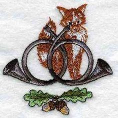 Free Embroidery Design: Hunting