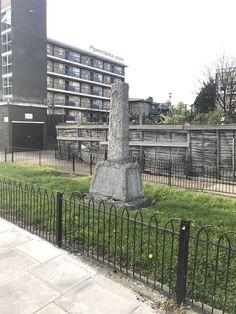I've found Thor's hammer #london #hackneycentral #eastlondon #stonemonument #thor #mjolnir #hanmer #random #pigeontalks