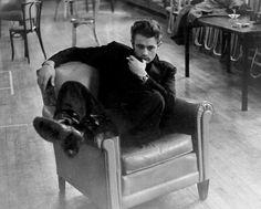 James Dean, 1955, a photo by Roy Schatt