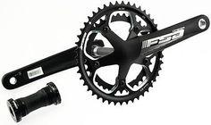 65161 bicycle-parts FSA OMEGA Road Bike Crankset With MegaExo BB 170mm N10 Black 34/46T Alloy NEW  BUY IT NOW ONLY  $54.96 FSA OMEGA Road Bike Crankset With MegaExo BB 170mm N10 Black 34/46T Alloy NEW...