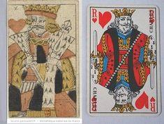 L'origine du nom des figures des jeux de cartes