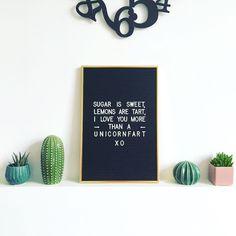 Decoreer je woon-, slaap-, studeer- of kinderkamer met dit mooie letterbord met vintage look. Zet jouw letterbord met vintage look op een mooi plekje en geef het bord een persoonlijke touch met behulp van de meegeleverde tekens. Koop nu een letterbord en maak je eigen woordkunst met leuke quotes, handige to-do-lijstjes, wekelijkse planningen, lieve gedichtjes of mooie songteksten. Het tekstbord kan je eenvoudig ophangen aan de muur of je zet het letterbord op een plank of kastje met…
