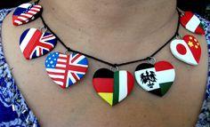 hetalia jewelry | Hetalia pairings necklace by ~mysticdragon3 on deviantART