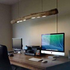 Drift wood lighting