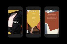 Lorod by Pentagram's Natasha Jen, United States. #branding #website