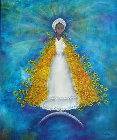 Las flores de Ochun   by Mayra Abo