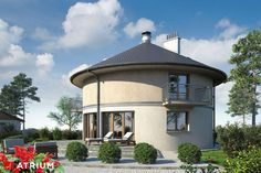 House Layout Plans, House Layouts, Round House Plans, Thatched House, Home Fashion, Gazebo, Ranch, Farmhouse, Cottage