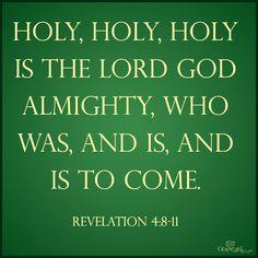 Revelation 4:8-11