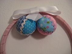 Bolas de natal de patchwork