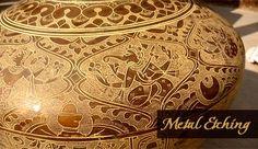 Metal carving