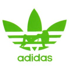green logo | Adidas with Dancing Lady Logo