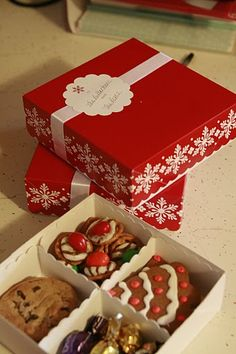cookie boxes christmas