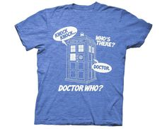 >> Click to Buy << GILDAN Doctor Who Knock Knock Adult T-shirt #Affiliate