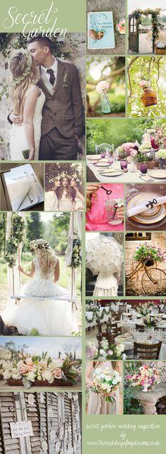 Secret Garden Wedding Decorations