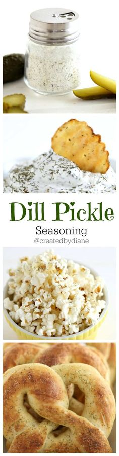 tangy and delicious this dill pickle seasoning will kick up your snacking in minutes. Homemade Spices, Homemade Seasonings, Food Storage, Ketchup, Vinaigrette, Spice Mixes, Spice Blends, Popcorn Recipes, Popcorn Snacks