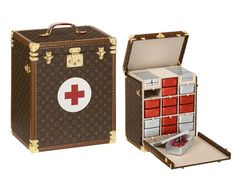 Beatiful First Aid Trunk from 100 Legendary Trunks book  by Louis Vuitton