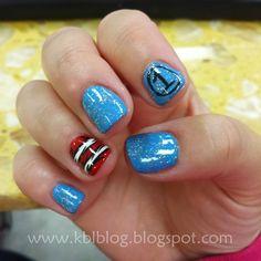 Thing 1 and Thing 2 Nails, Dr. Seuss Nails