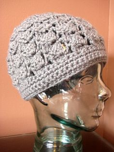 Women's Crochet Hat by MeganYouHappyCrochet on Etsy, $23.00