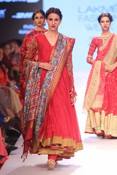 Gaurang Shah Lakmé Fashion Week Winter/Festive Gaurang Shah Collection, Designs, Fashion Shows, Lehengas & Sarees, Pictures and Photos on Bigindianwedding Lakme Fashion Week, India Fashion, Ethnic Fashion, Women's Fashion, Indian Attire, Indian Wear, Indian Dresses, Indian Outfits, Anarkali Dress