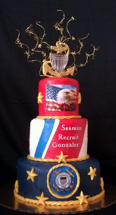 Coast Guard Grooms Cake on Cake Central Military Retirement Parties, Retirement Cakes, Retirement Countdown, Retirement Ideas, Retirement Celebration, Retirement Quotes, Coast Guard Wedding, Coast Guard Wife, Military Cake