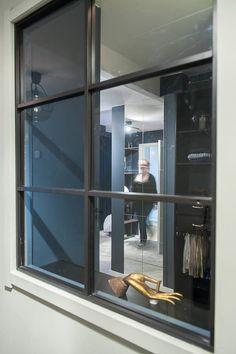 Fönsterparti i hall
