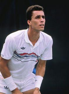 Ivan Lendl. #tennis Tennis Gear, Lawn Tennis, Tennis Clothes, Kim Clijsters, Tennis Serve, Tennis Legends, Wimbledon Tennis, Vintage Tennis, Different Sports
