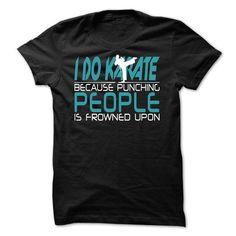 I karate - #white shirt #tshirt recycle. LOWEST PRICE => https://www.sunfrog.com/No-Category/I-karate.html?68278
